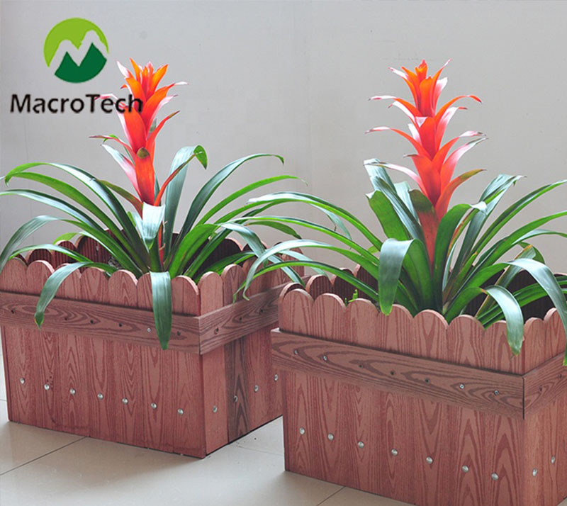 High-end custom wood plastic flower box